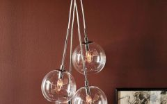 Cluster Glass Pendant Lights Fixtures