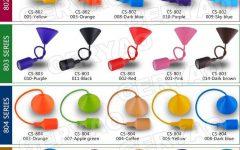 Coloured Pendant Cord