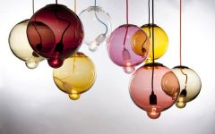 Coloured Glass Lights