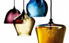 Coloured Glass Pendants