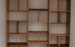 Contemporary Oak Bookcase