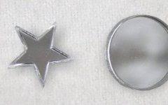 Small Diamond Shaped Mirrors