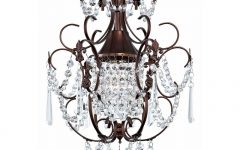 Small Bronze Chandelier