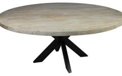 Iron Dining Tables with Mango Wood