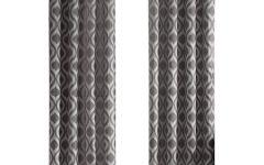 Linen Button Window Curtains Single Panel