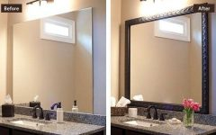 Frames for Bathroom Wall Mirrors