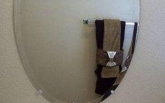 Beveled Edge Oval Mirrors