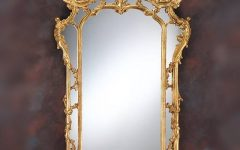 Baroque Gold Mirrors