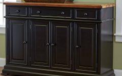 Black Dining Room Sideboards