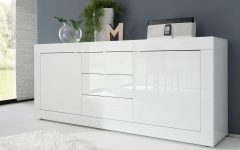 White Modern Sideboard