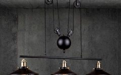 Pulley Pendant Lighting