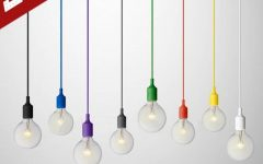 Pendant Lights with Coloured Cord