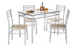 Liles 5 Piece Breakfast Nook Dining Sets