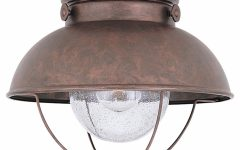 Outdoor Ceiling Light Fixture With Outlet