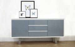 Grey Gloss Sideboard