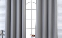 Solid Insulated Thermal Blackout Long Length Curtain Panel Pairs