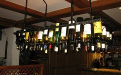Wine Bottle Ceiling Lights