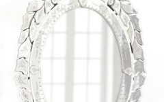 Venetian Oval Mirrors