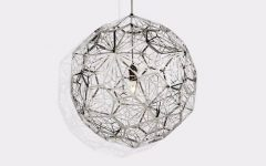 Tom Dixon Etch Web Pendants