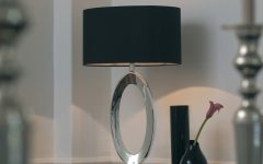 Black Living Room Table Lamps