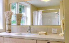 Frameless Beveled Bathroom Mirrors