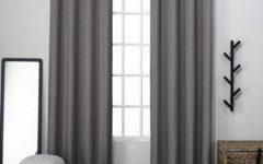 Sugar Creek Grommet Top Loha Linen Window Curtain Panel Pairs
