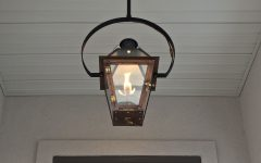 Outdoor Hanging Gas Lanterns