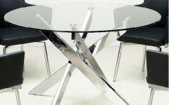 Glass Top Condo Dining Tables