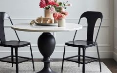 Chapman Round Marble Dining Tables
