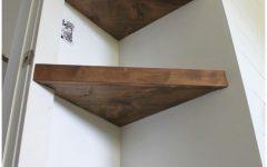 Corner Shelf for Dvd Player on Wall