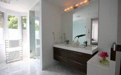 Frameless Bathroom Wall Mirrors