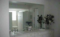 Large No Frame Mirrors