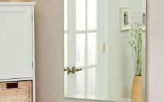 Wall Mirrors Without Frame