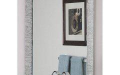 Frameless Molten Wall Mirrors