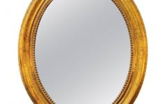 Gold Oval Mirrors