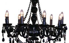 Black Gothic Chandelier
