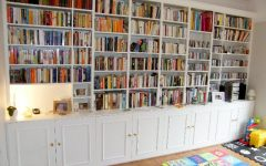 Full Wall Bookcases