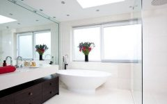 Bathroom Full Wall Mirrors