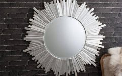 Round Contemporary Mirrors