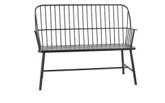 Gehlert Traditional Patio Iron Garden Benches
