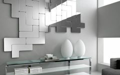 Abstract Wall Mirrors