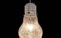 Giant Lights Bulb Pendants