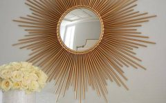 Sun Ray Wall Mirrors