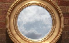 Round Gilt Mirrors