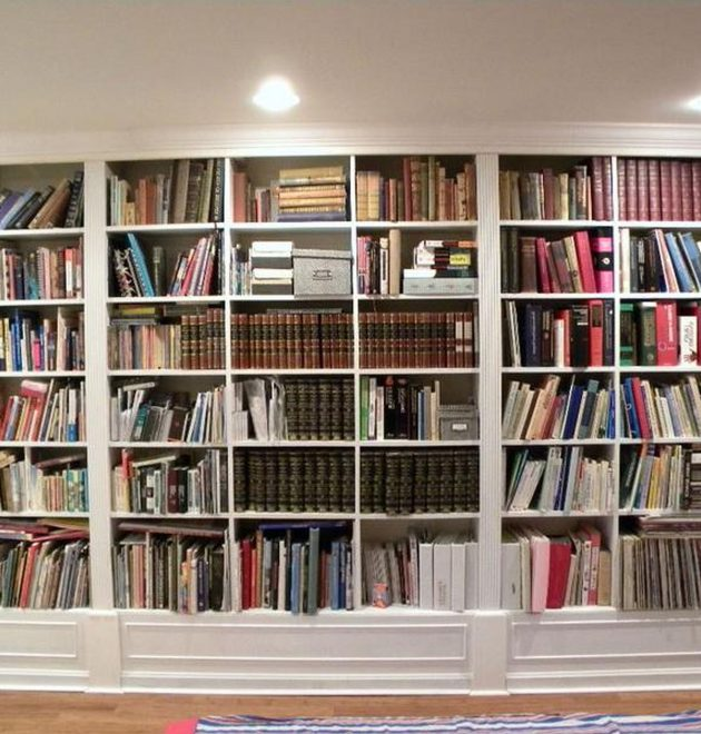Wall to Wall Bookcase