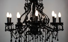 Antique Black Chandelier