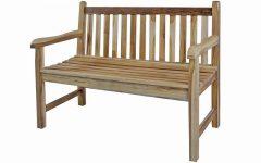 Hampstead Heath Teak Garden Benches
