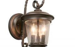 Jordy Oil Rubbed Bronze Outdoor Wall Lanterns