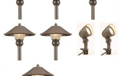 Contemporary Hampton Bay Outdoor Lighting