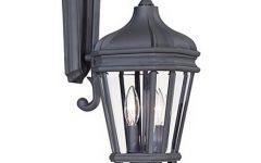 Heitman Black Wall Lanterns